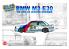 NuNu maquette voiture de Piste PN24017 BMW E30 '88 GAGNANT 24 HEURES SPA 1/24