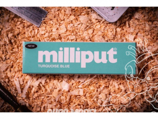 MILLIPUT 6 Milliput TURQUOISE BLUE