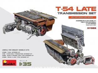 Mini Art maquette militaire 37066 ENSEMBLE DE TRANSMISSION LATE pour T-54 1/35