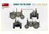 MINI ART maquette militaire 35317 TRACTEUR ALLEMAND D8506 AVEC REMORQUE ET FIGURINES 1/35