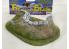 Fr decor 21023 Décor diorama pierre reconstituée Muret et butte de terre sur socle 170x120mm Fabriqué en France