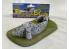 Fr decor 21054 Décor diorama pierre reconstituée Muret avec escalier sur socle 200x100mm Fabriqué en France