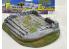 Fr decor 21029 Décor diorama pierre reconstituée Parvis avec muret sur socle 170x120mm Fabriqué en France