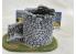 Fr decor 21059 Décor diorama pierre reconstituée Tour 160x110x110mm Fabriqué en France