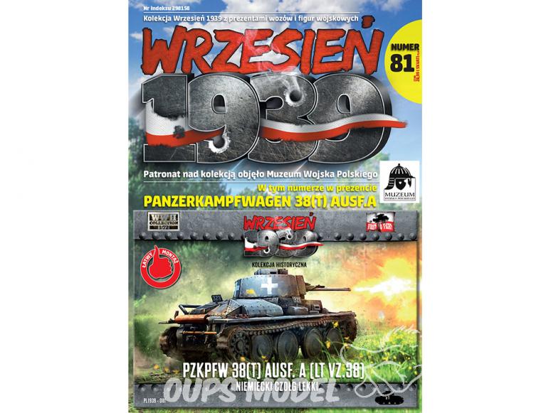 First to Fight maquette militaire pl081 Char léger allemand PzKpfw 38 Ausf.A (LT vz. 38) 1/72