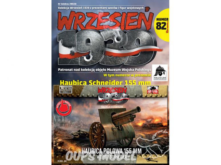 First to Fight maquette militaire pl082 Obusier de campagne de 155 mm wz.1917 Schneider 1/72