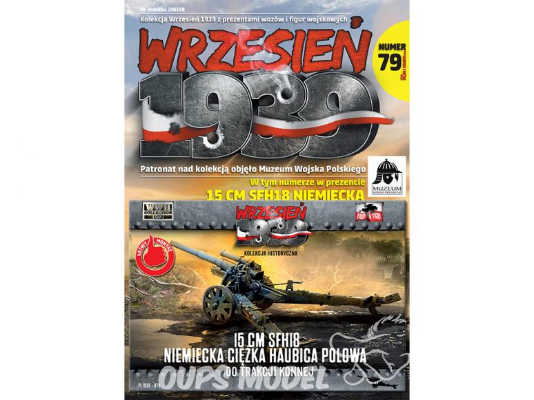 First to Fight maquette militaire pl079 Obusier de campagne lourd allemand sFH18 de 15 cm hyppomobile 1/72