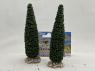 Fr Décor arbres 61591 deux Cyprès de provence tronc bois 120mm Made in France
