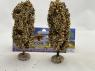 Fr Décor arbres 32391 deux Peupliers automne tronc bois 120mm Made in France