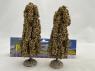 Fr Décor arbres 32591 deux Peupliers automne tronc bois 170mm Made in France