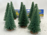 Fr Décor arbres 9612/V Huit sapins ecouvillons 120mm