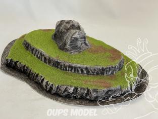Fr decor 99402 Décor diorama plastique rocher 290x210mm Fabriqué en France