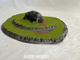 Fr decor 99401 Décor diorama plastique rocher 290x190mm Fabriqué en France