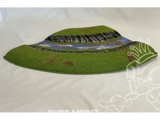 Fr decor 99211 Décor diorama plastique riviere 350x250mm Fabriqué en France