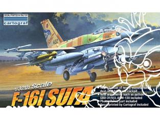 Academy maquettes avion 12105 F-16 I SUFA Israeli A.F. 1/32