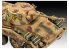 Revell maquette militaire First diorama Set 03298 Sd.Kfz. 234/2 Puma inclus colle pinceau et peintures principales 1/76