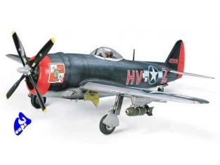 tamiya maquette avion 61096 Republic P-47M Thunderbolt 1/48
