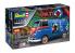 Revell maquette voiture 05672 Coffret Cadeau Volkswagen VW T1 The Who inclus colle pinceau peintures principales 1/24