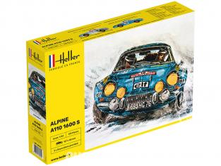 Heller maquette voiture 80745 Alpine A110 1600S 1/24
