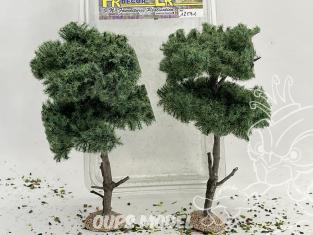 Fr Décor arbres 12591 Deux Pins d'Autriche tronc bois 120mm Made in France