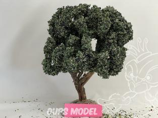 Fr Décor arbres 69891 Olivier avec olives noire tronc bois 210mm Made in France