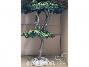Fr Décor arbres 65991 Pin maritime tronc bois 250mm Made in France