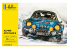 Heller maquette voiture 56745 STARTER KIT Alpine A110 1600S inclus peintures principales colle et pinceau 1/24