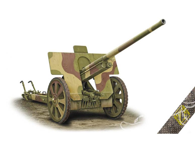 Ace Maquettes Militaire 72572 Canon AT soviétique F-22 76,2mm 1/72
