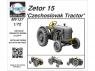 Planet model Maquettes militaire mv127 Tracteur tchécoslovaque Zetor 15 kit résine complet 1/72