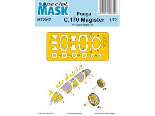 Special Hobby Masque avion M72017 Masque Fouga C.170 Magister 1/72
