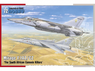 Special Hobby maquette avion 72435 Mirage F.1AZ/CZ The South African Commie Killers 1/72