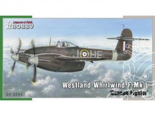 Special Hobby maquette avion 32047 Westland Whirlwind Mk.I Cannon Fighter 1/32