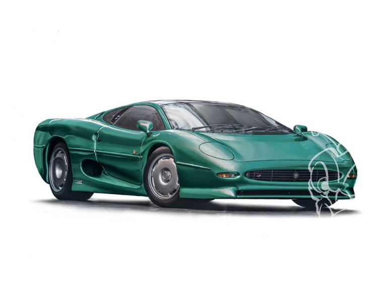Italeri maquette voiture 3631 Jaguar XJ 220 1/24