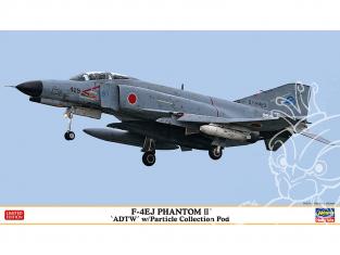 Hasegawa maquette avion 02369 F-4EJ Phantom II développement de vol avec capsule de dépoussiérage 1/72