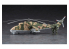 HASEGAWA maquette 02368 Mi-24 Hind « UAV » et char léger humanoïde « Goat UGV » 1/72