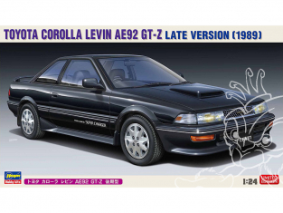 Hasegawa maquette voiture 20486 Toyota Corolla Levin AE92 GT-Z modèle tardif 1/24