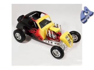 LINDBERG maquette voiture 73043 Flat Dragster 1/12