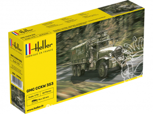 Heller maquette militaire 79996 GMC CCKW 353 1/72