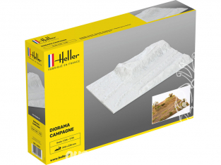 Heller maquette voiture 81254 Socle diorama Campagne 1/35