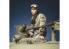Alpine figurine 35285 Commandant de char US 2 WWII 1/35