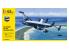 Heller maquette avion 56311 STARTER KIT Lockheed EC-121 Warning Star inclus peintures principale colle et pinceau 1/72