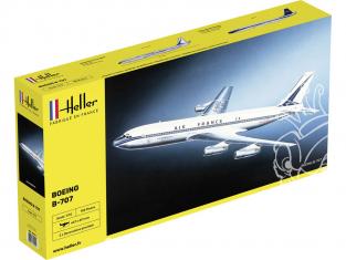 Heller maquette avion 80452 Boeing B707 1/72