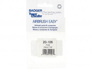 Badger Aerographe 20-106 Buse Fine pour Sotar 2020