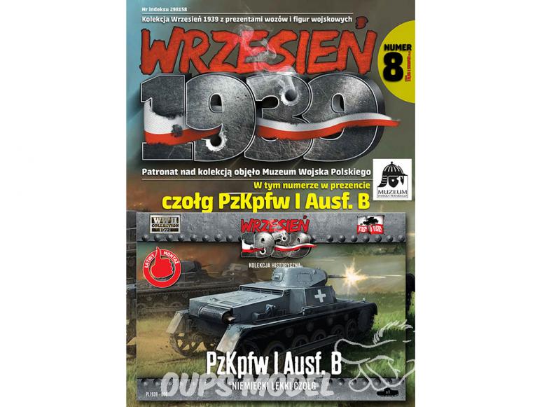 First to Fight maquette militaire pl008 Pz.Kpfw. Et Ausf.B char léger allemand 1/72