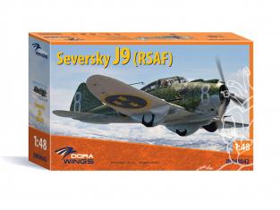 Dora Wings maquette avion DW48042 Seversky J9 (RSAF) 1/48