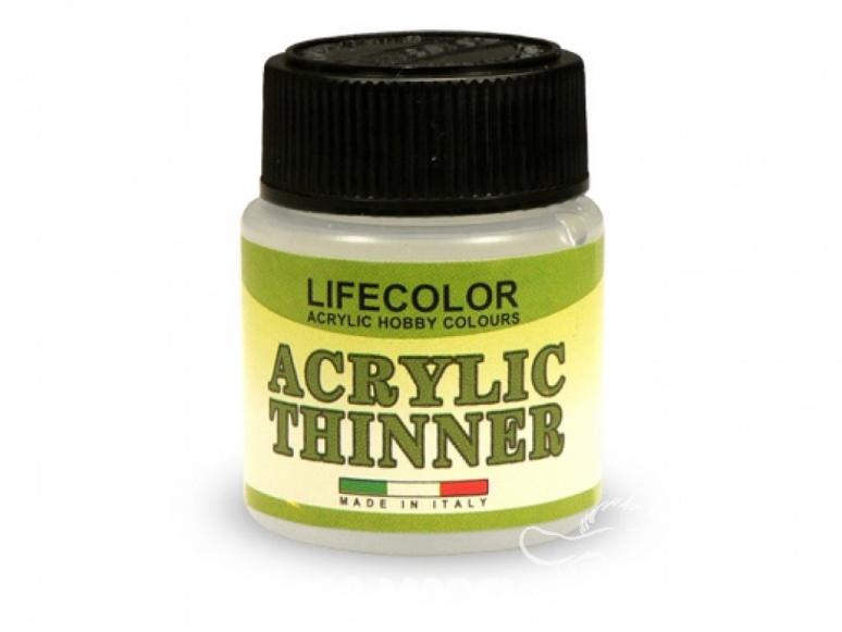 DILUANT ACRYLIC (THINNER) 22ml de LIFECOLOR