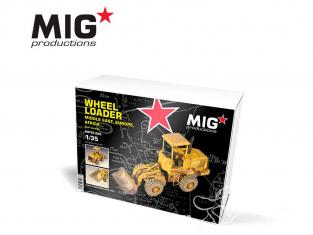 MIG Productions by AK MP35-265 Chargeur sur pneus - Moyen orient - Europe - Afrique Version civile 1/35