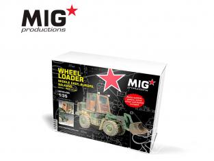 MIG Productions by AK MP35-266 Chargeur sur pneus - Moyen orient - Europe - Balkans Version militaire / OTAN 1/35