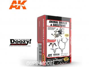 Ak Interactive Doozy DZ036 Cranes et squelette animaux 1/24