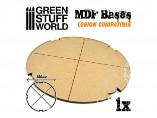 Green Stuff 502328 Socles ROND 150 mm en MDF (Legion)